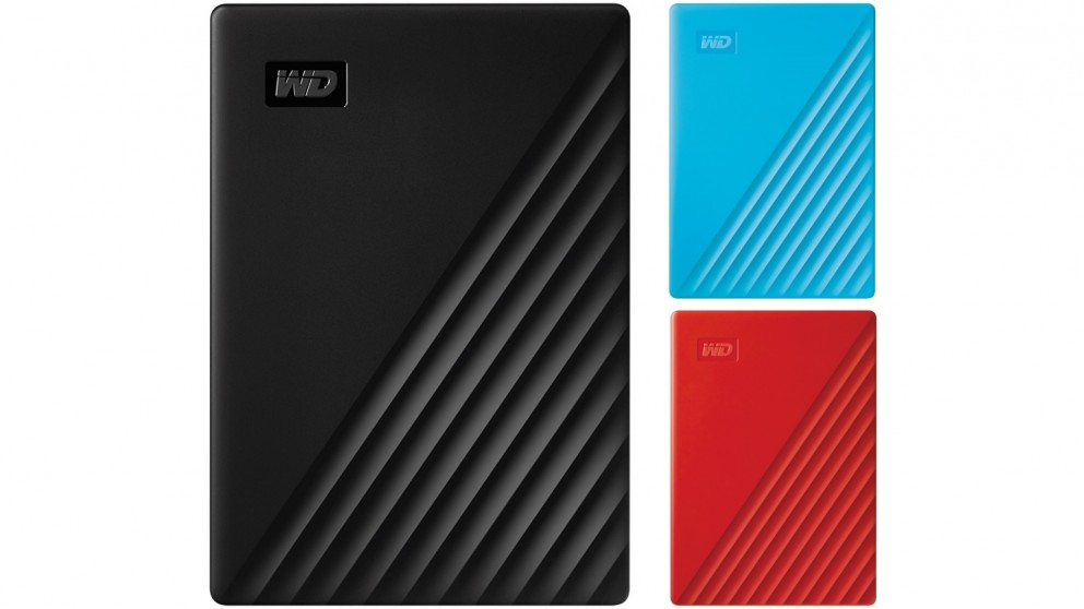WD My Passport 2TB USB 3.2 Portable Hard Drive