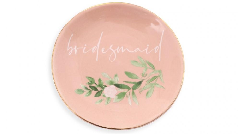 Splosh Wedding Trinket Plate - Bridesmaid