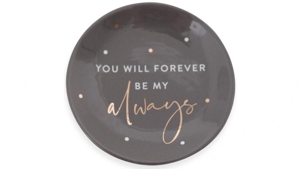 Splosh Always Wedding Trinket Plate