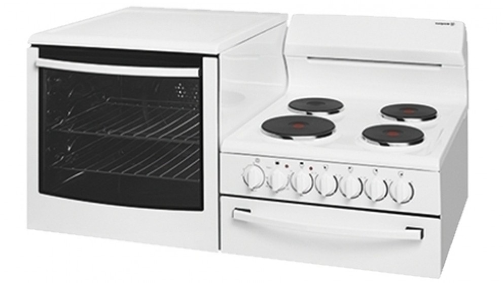 Westinghouse 1085mm Fan Forced Freestanding Elevated Electric Cooker - Left Oven