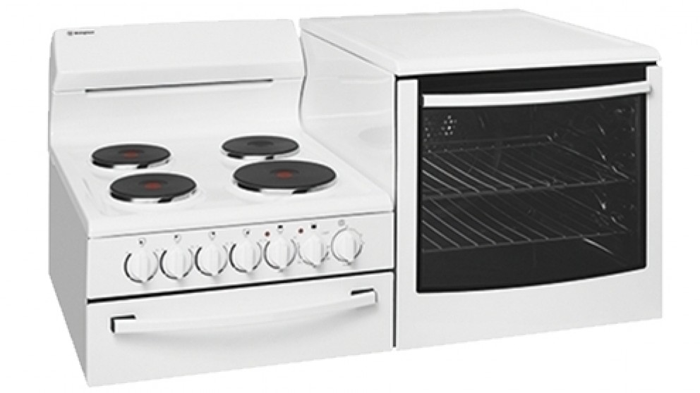 Westinghouse 1085mm Fan Forced Freestanding Elevated Electric Cooker - Right Oven