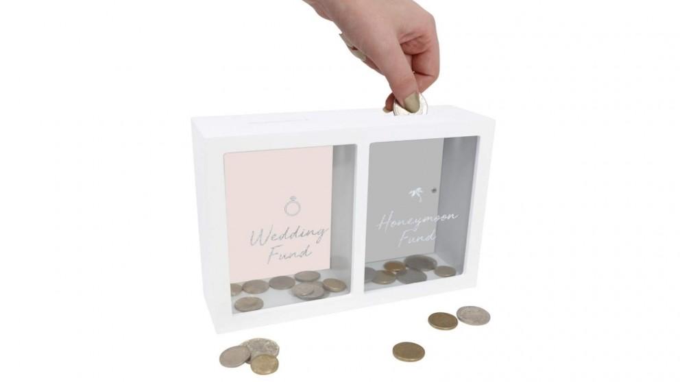 Splosh Wedding & Honeymoon Change Box - White, Pink and Grey