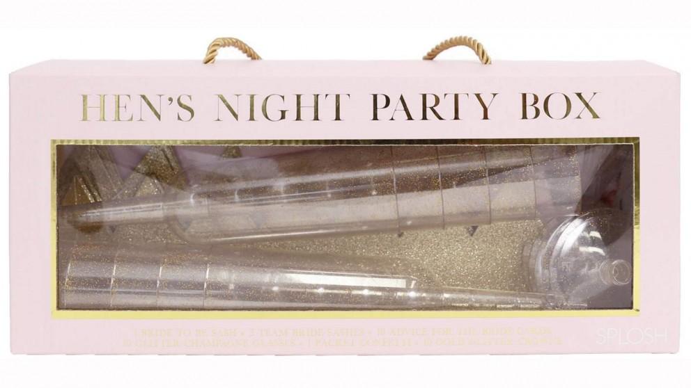 Splosh Wedding Hen's Night Party Box