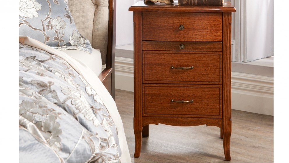 Chelmsford Bedside Table with Breakfast Tray