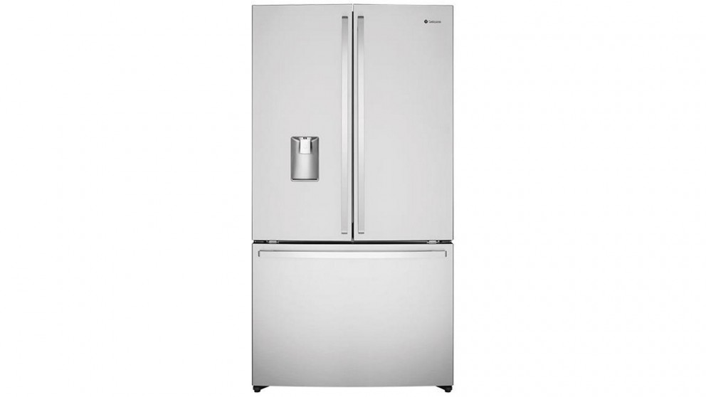 Westinghouse 565L Stainless Steel French Door Fridge with Water Dispenser