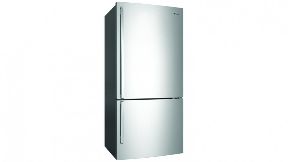 530l right hinge bottom mount fridge stainless steel fridges appliances kitchen appliances harvey norman australia