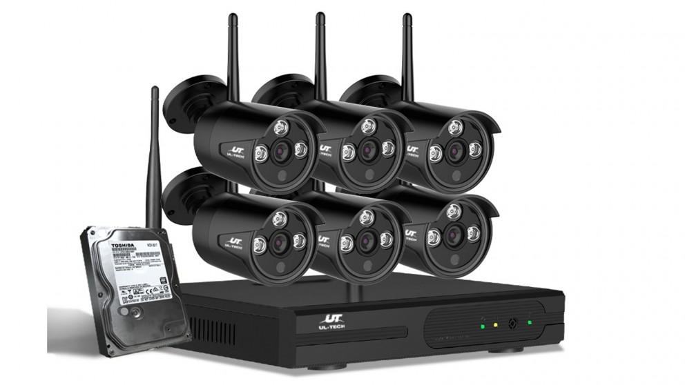 UL-tech CCTV Security 6 Bullet Kit