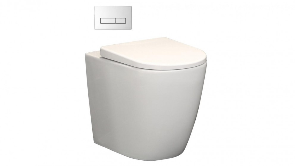 Argent Grace Wall-Faced Toilet Suite