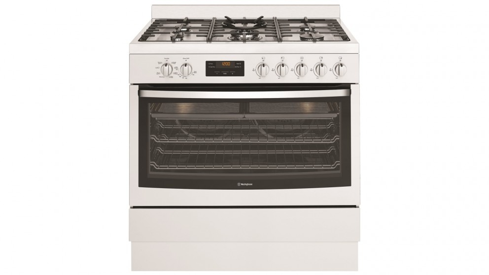 Westinghouse 900mm Dual Fuel Freestanding Cooker with Gas Hob