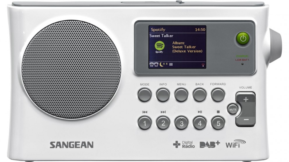 Sangean WFR-28C DAB+/FM Internet Radio via Wifi Digital Radio Receiver
