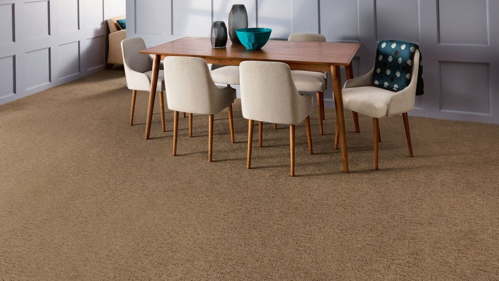 Everstrand Sculptured Touch Hickory Stick Carpet Flooring