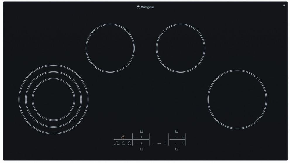 90cm 6 zone ceramic electric cooktop