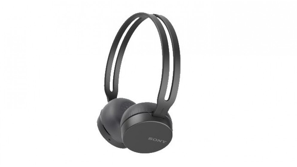 Sony WHCH400 On-Ear Wireless Headphone - Black