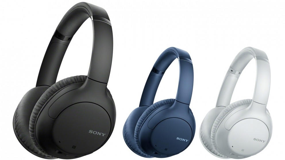 Sony WH-CH710N Wireless Noise Cancelling Over-Ear Headphones