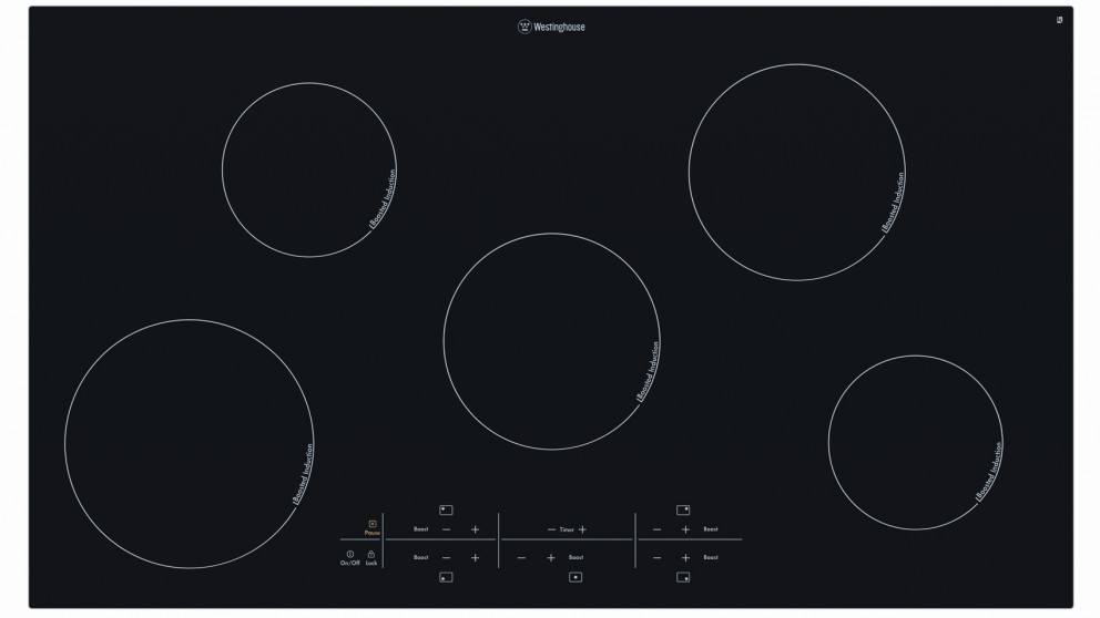 Westinghouse 900mm 5 Zone Induction Cooktop