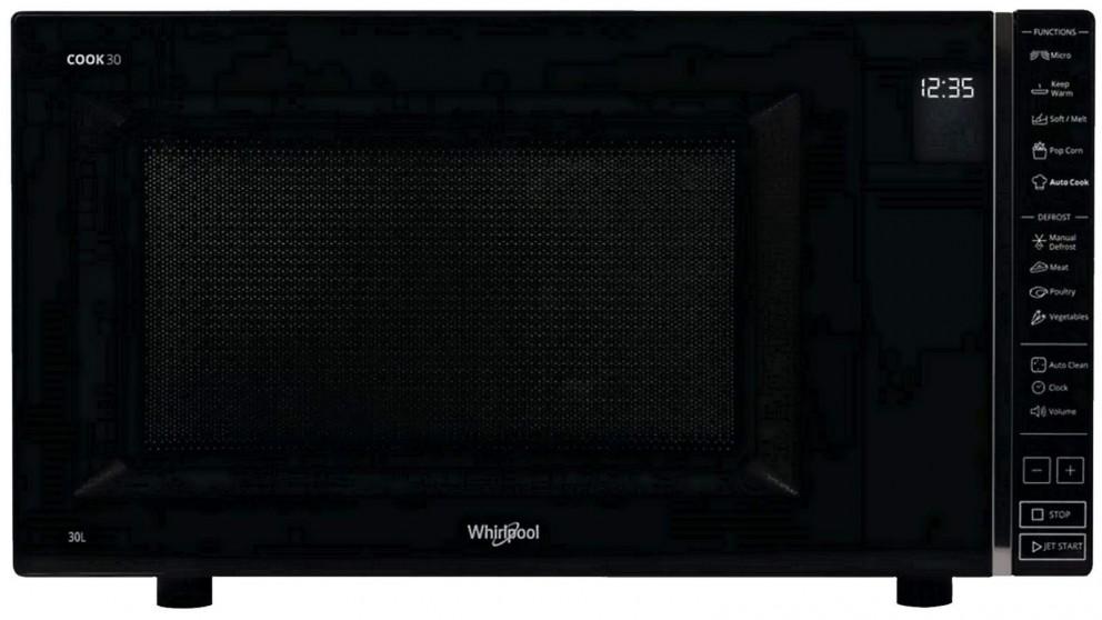 Whirlpool 30L Solo Microwave - Black