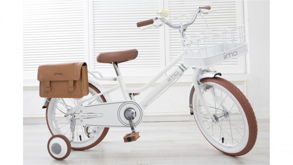 "IIMO 16"" Kids Bike - White"