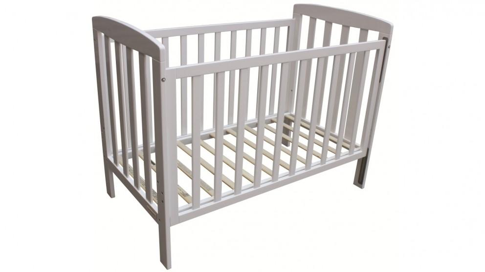 Childcare Bristol Cot - White
