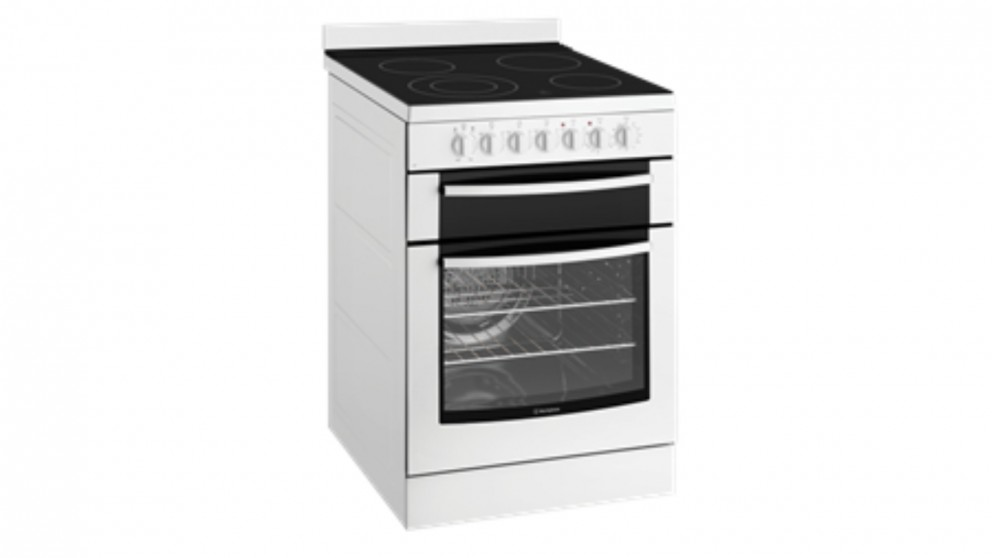 Westinghouse 60cm Ceramic Freestanding Electric Cooker - White