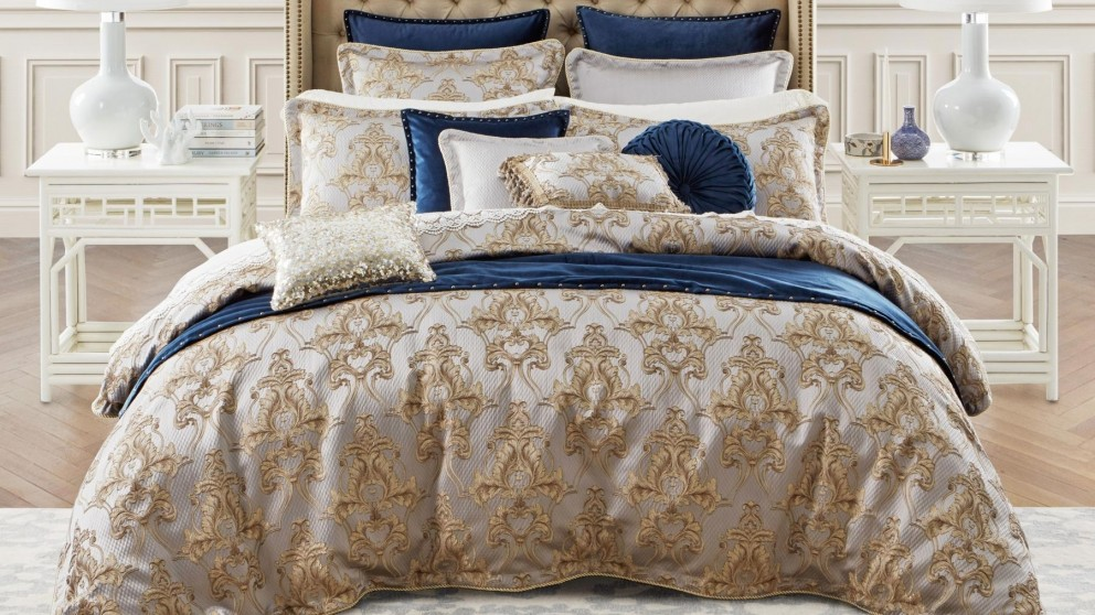 Windsor Gold Quilt Cover Set