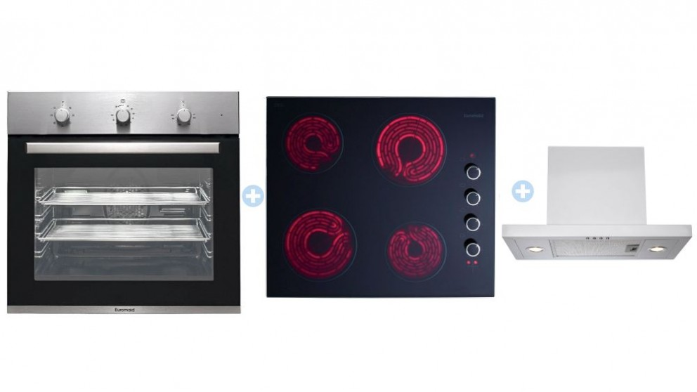 Euromaid 600mm Electric Cooking Package