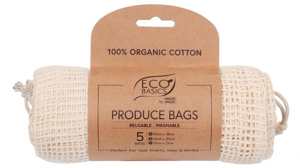White Magic Eco Basics Produce Bags