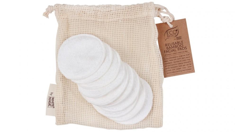 White Magic Eco Basics Reusable Bamboo Facial Pads