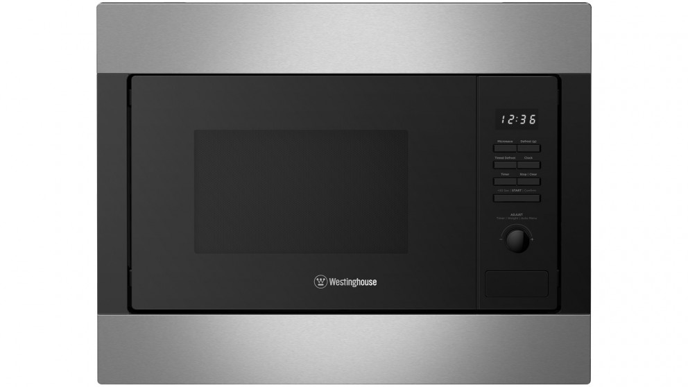 Westinghouse 25L Stainless Steel Built-in Microwave