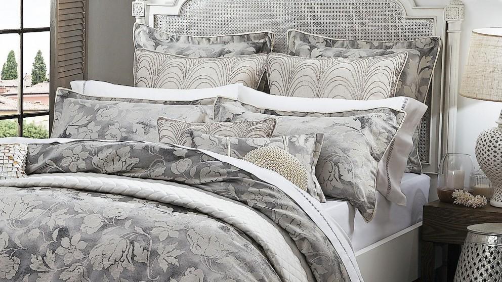 Windemere Silver European Pillowcase