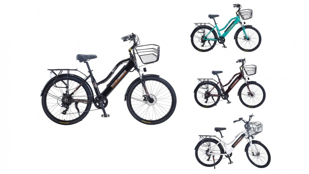 Akez 26-inch Electric Bike for Women