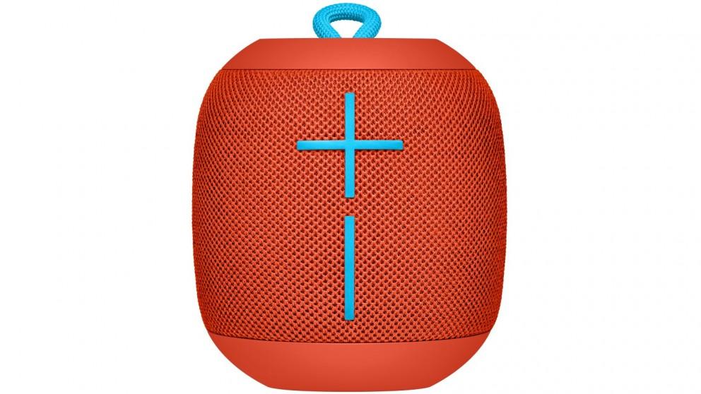UE Wonderboom Portable Bluetooth Speaker - Fireball Red