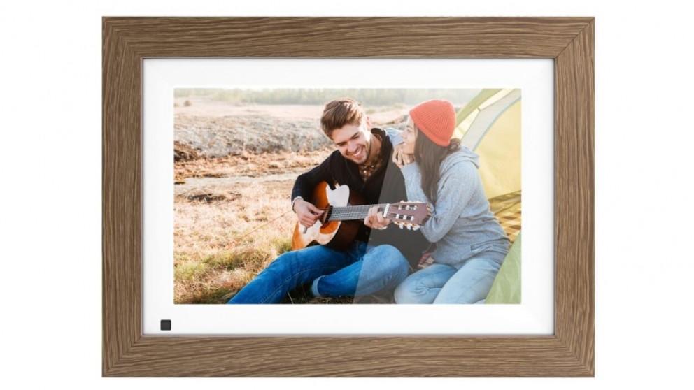 "AVLabs 8"" Digital Photo Frame - Wood"