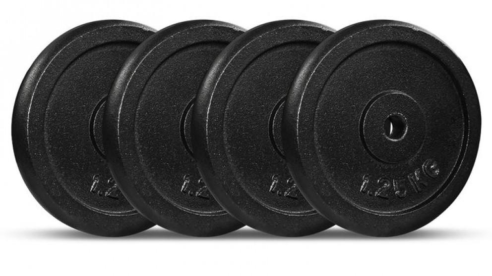 Cortex 1.25kg Cast Iron Plates - 4 Pack