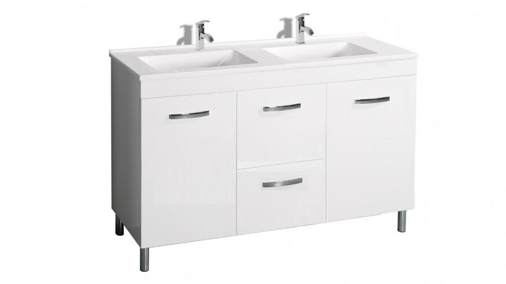 Vanity Bathroom Harvey Norman cartia mia 1200mm waterproof double vanity - bathroom vanities