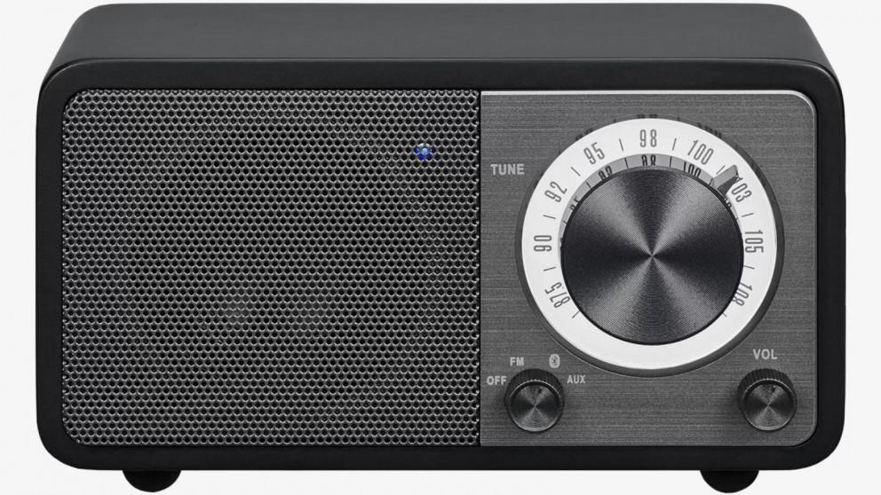 Sangean WR-7 FM/Bluetooth Portable Radio - Black