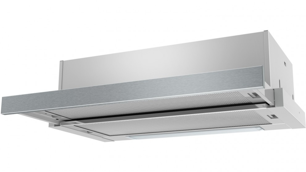Westinghouse 600mm Slimline Slide-Out Rangehood - Stainless Steel