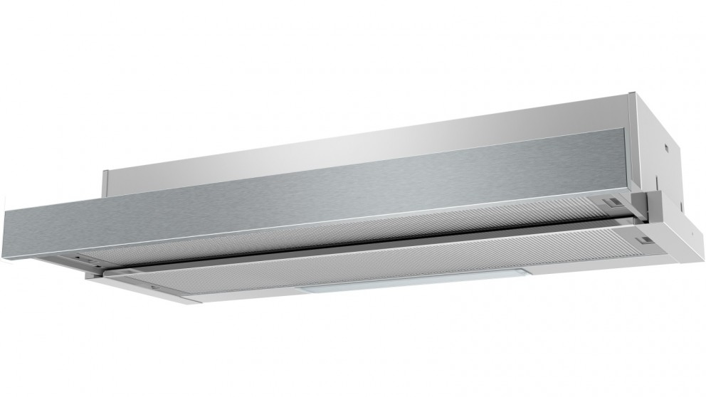 Westinghouse 900mm Slide-Out Rangehood with Front Recirculation - Stainless Steel