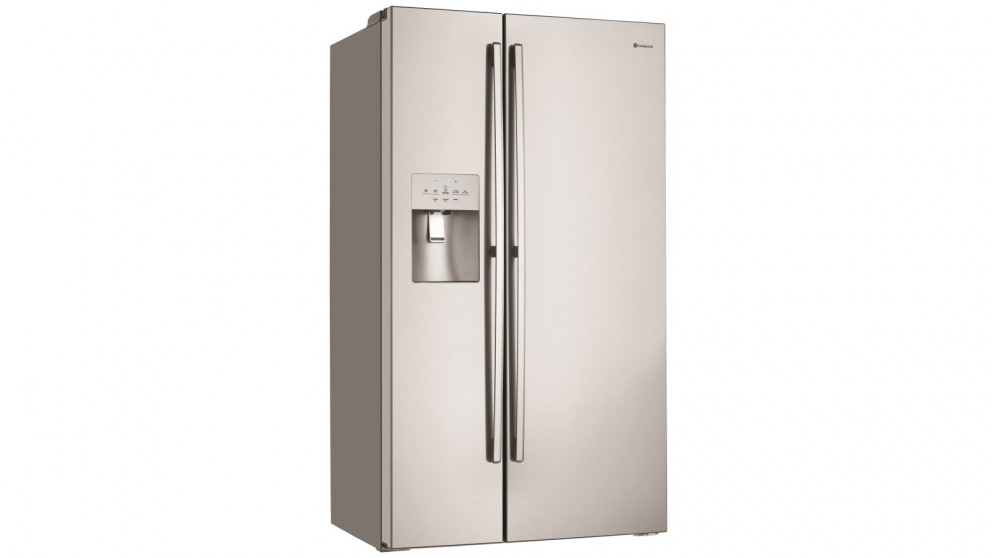 Westinghouse 680L Side by Side Fridge - Stainless Steel