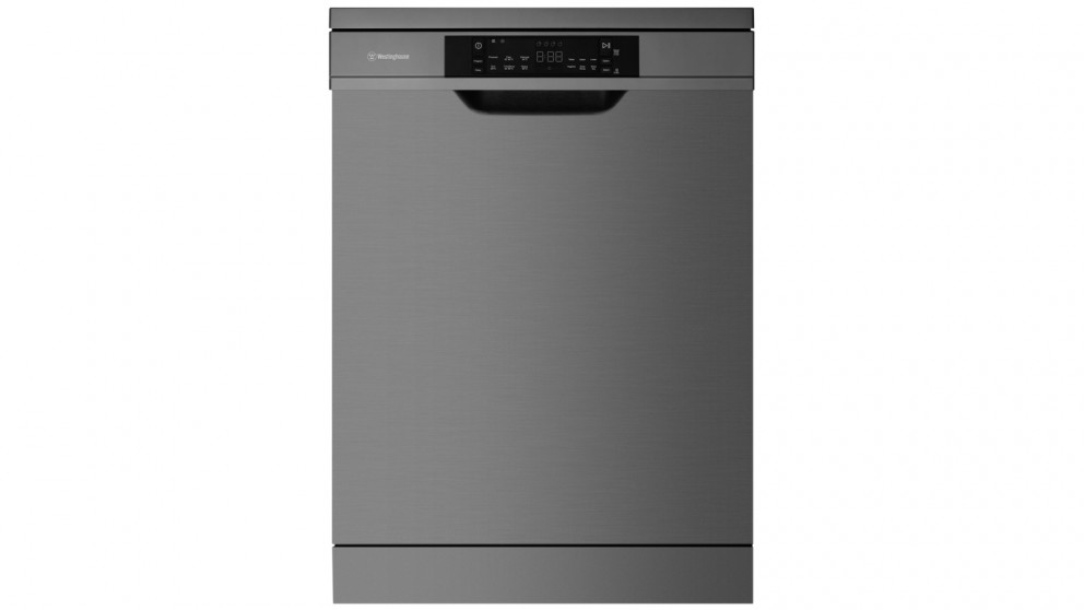 Westinghouse 60cm 15 Place Setting Active Dry Freestanding Dishwasher - Dark Stainless Steel