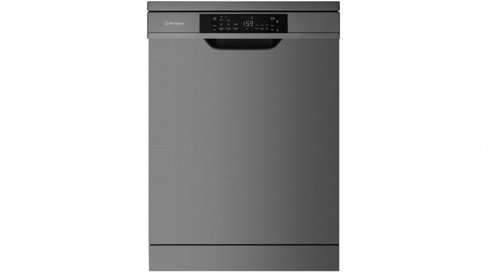 Westinghouse 60cm 15 Place Setting Freestanding Dishwasher with SensorWash - Dark Stainless Steel