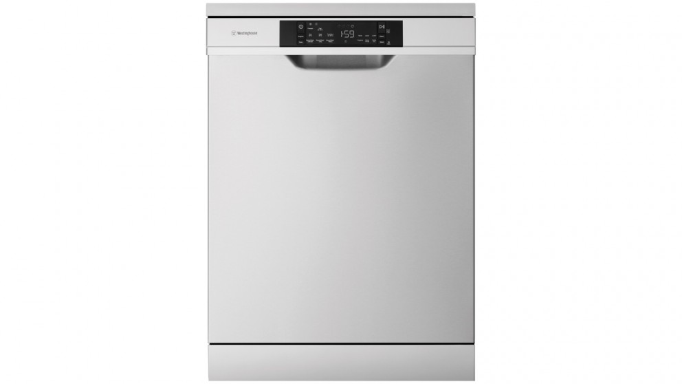 Westinghouse 60cm 15 Place Setting Freestanding Dishwasher with SensorWash - Stainless Steel