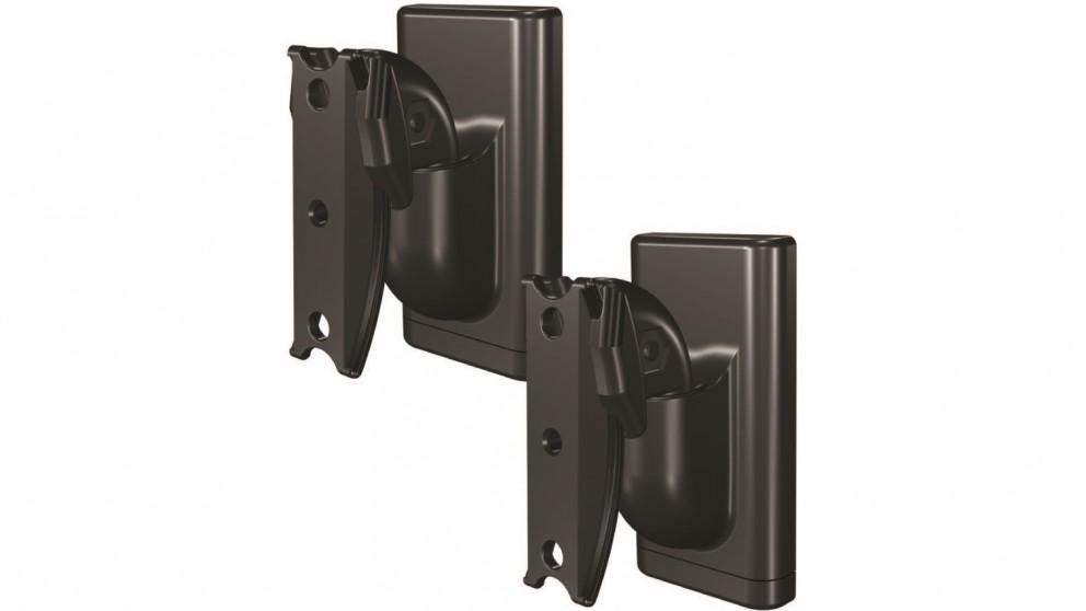 Sanus Pair of Tilt and Swivel Wall Mount for Wireless Speaker - Black