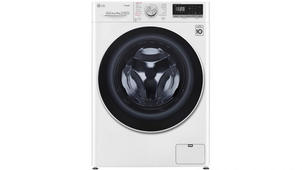 LG Series 5 8kg Front Load Washing Machine with Steam