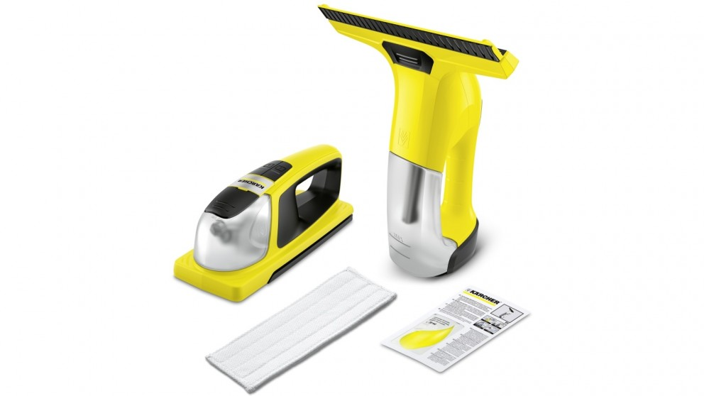 Karcher WV6 Window Vac + KV4 Cordless Wiper Bundle