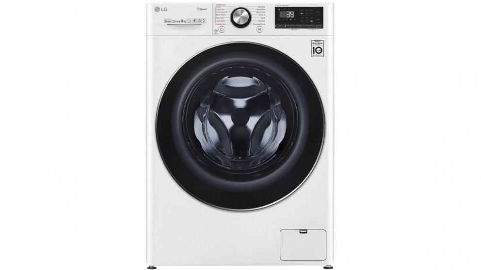 LG Series 9 9kg Front Load Washing Machine with Steam+