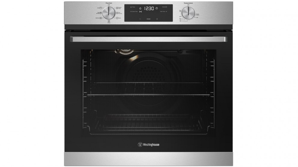 Westinghouse 600mm Stainless Steel Multifunction Oven with Programmable Timer