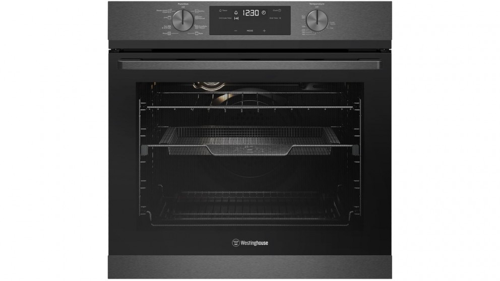 Westinghouse 600mm Dark Stainless Steel Multifunction Oven with AirFry