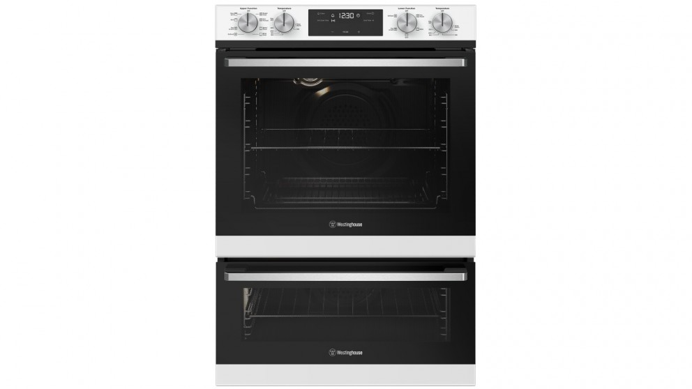 Westinghouse 600mm White Multifunction Duo Oven