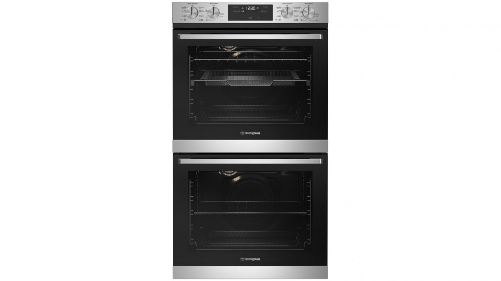 Westinghouse 600mm Stainless Steel Multifunction Double Oven with AirFry