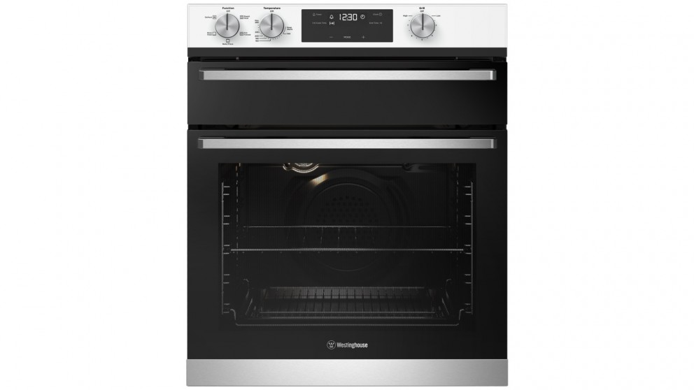 Westinghouse 600mm White Multifunction Underbench Oven with Separate Grill
